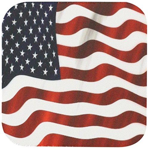 3dRose cst 125032 1 Patriotic American Coaster