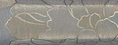 Wallpaper Metallic Gray Silver And Gold Modern Vinyl Large
