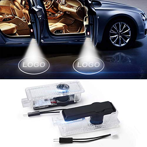 Younar 2PCS Car Door LED Logo Welcome Courtesy Light Projector Wireless Laser HD Shadow Entry Warning Lamps for Toyota