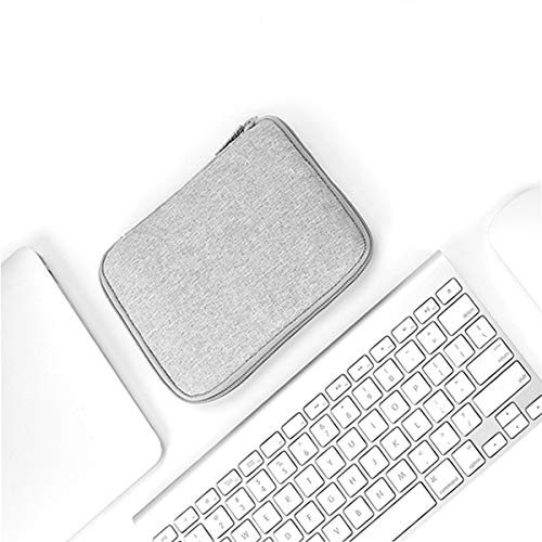 Jinnuotong Electronic Organizer,Cable Organizer,Accessories Organizer, Storage Box for Mobile Hard Disk, Charging Treasure, Electronics Carrying Bag, Free Combination, Gray,Black,Blue Portable by Jinnuotong (Image #1)