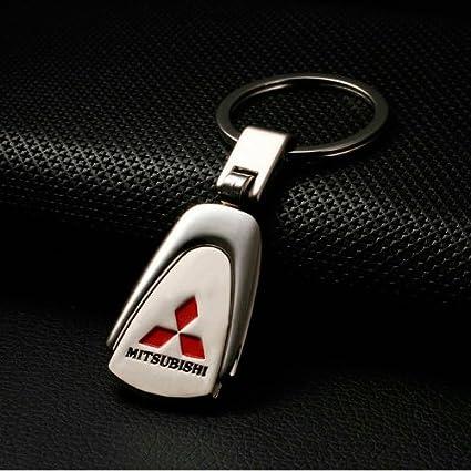 Amazon Champled Mitsubishi Emblem Keychain Keyring Logo Symbol