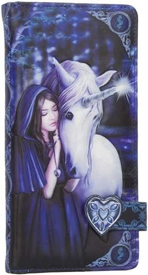Anne Stokes Unicornio Corazón Monedero