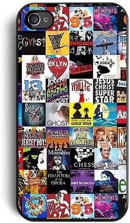 Amazon Com Broadway Musical Collage Case For Apple Iphone 7 4 7