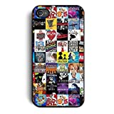 Broadway Musical Collage Case for Apple Iphone 7 - 4.7 Inch, Silicone TPU Cover Includes 2 Screen Protectors and Cleaning Cloth, Ships From USA