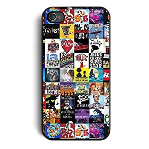 Broadway Collage Case Iphone 4 Case Iphone 4s Case