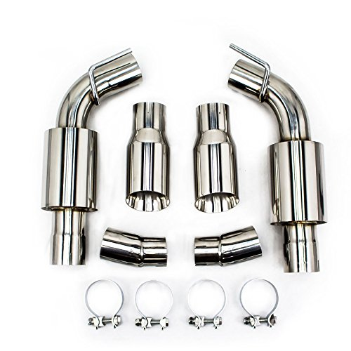 Rev9(CB-1201) FlowMaxx Exhaust Kit For Chevy Camaro V6 2010-15, 3″ Pipe, Sports Muffler
