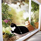 Md trade Cozy Sunny Seat Safety Window-Mounted Cat Bed Cat Hammock Cat Resting seat