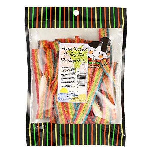 Li Hing Mui Rainbow Belts 11 Oz Bag