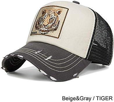 Evrfelan de moda de malla gorra de béisbol Unisex animales tapas ...