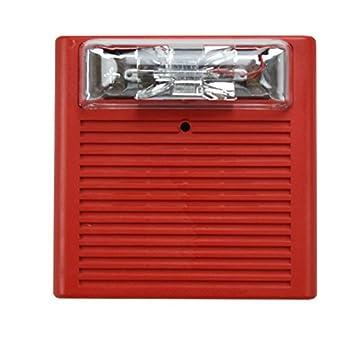 The Schumin Web » Wheelock 46T-G6-24-WS  |Wheelock Fire Alarm Horn Strobe