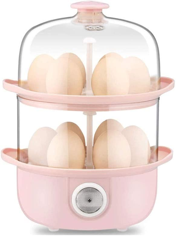 LKNJLL 12 Egg Capacity Egg Cooker,200W Electric Egg Maker,Egg Steamer,Egg Boiler,Egg Cooker With Automatic Shut Off