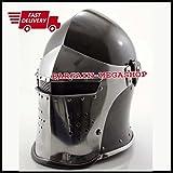 Maxmillan Armor Helmet Medieval Knight Crusader Armer