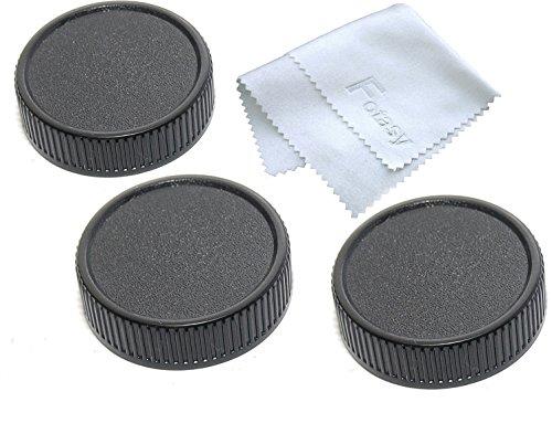 Fotasy Lens Rear Cap for Leica M LM Mount Lenses (3 Packs)