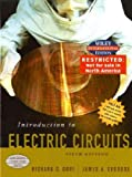Wie Introduction to Electric Circuits, International Edition, Richard C. Dorf, 0471452335