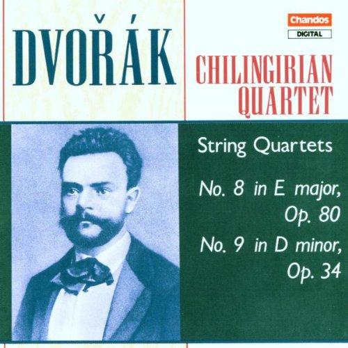 Dvorák: String Quartet 8 in E major, B. 57 (Op.80) / String Quartet 9 in D minor, B. 75 (Op.34)