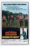 Hornets Nest Movie Poster (27 x 40 Inches - 69cm x 102cm) (1970) Style C -(Rock Hudson)(Sylva Koscina)(Sergio Fantoni)(Jacques Sernas)(Giacomo 'Jack' Rossi-Stuart)(Andrea Bosic)