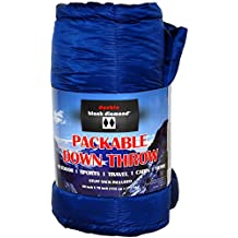 "Double Black Diamond Packable Down Throw with Stuff Sack, 60"" x 70"""