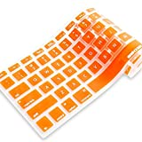 iBenzer MKC01OR Macaron Series Keyboard Cover for MacBook Pro 13