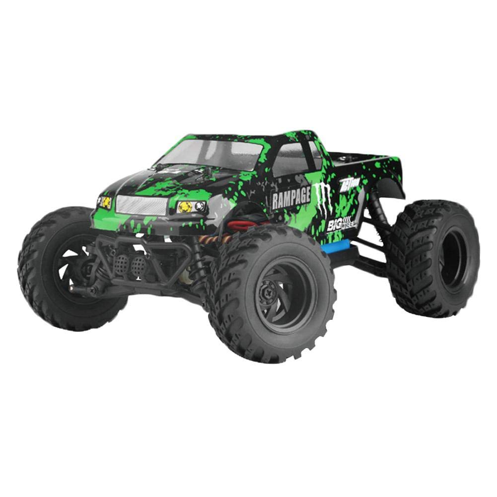 Green Big Tires FourWheel Drive HighSpeed Remote Control Electric RC OffRoad Trucks 1 18 Car Model Small Toy With Waterproof Function