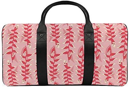 ヘリコニアライト1 旅行バッグナイロンハンドバッグ大容量軽量多機能荷物ポーチフィットネスバッグユニセックス旅行ビジネス通勤旅行スーツケースポーチ収納バッグ