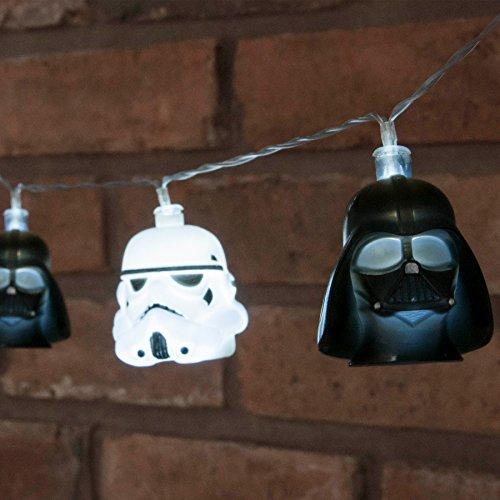Star Wars String Lights 3D Darth Vader & Stormtrooper Groovy (Darth Vader Lights)
