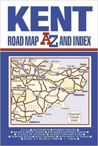 Kent Road Map (A-Z Road Maps & Atlases): 9780850397659: Amazon.com ...