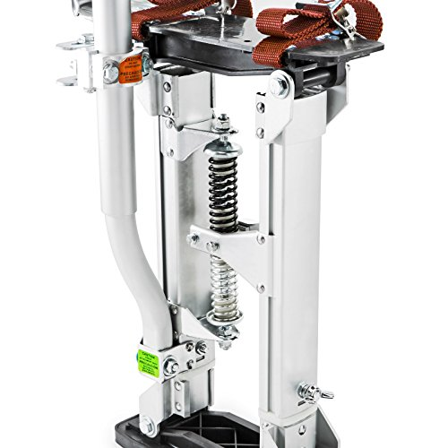 GypTool Pro 15'' - 23'' Drywall Stilts - Silver by GypTool (Image #3)