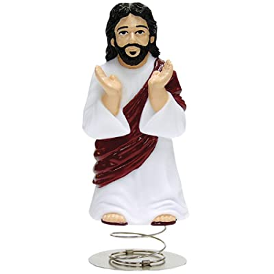 Accoutrements Wobbling Dashboard Jesus Bobblehead: Toys & Games