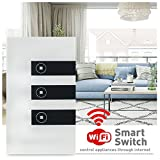 Faryuan Smart Wi-Fi Touch Panel Wall Switch
