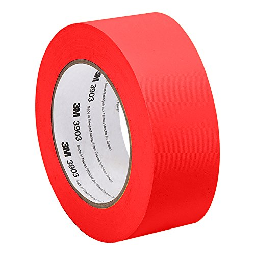 3M 3903 Vinyl Duct Tape - 2 in. x 150 ft. Blue Rubber Adhesive Tape Roll with Abrasion, Chemical Resistance. Sealing Tapes 3903 Vinyl Duct Tape