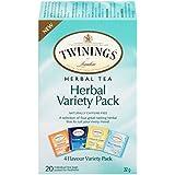 Twinnings Herbal Tea Variety Pack, 32g