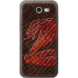 R0663 Cobra Snake Skin Case Cover For Samsung Galaxy J3 Emerge, J3 Prime, J3 Eclipse, Express Prime 2, Amp Prime 2, J3 Luna Pro, J3 Mission, J3 Eclipse, Sol 2 (SM-J327)