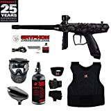 MAddog Tippmann Gryphon FX Beginner Protective HPA Paintball Gun Package – Skull For Sale