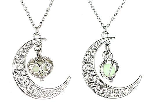 mjartoria-love-across-light-years-filigree-crescent-moon-glim-cabochon-friendship-necklace-set-of-2