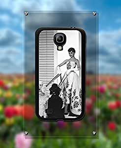 Galaxy S4 Mini Creative Funda Case - Actor Audrey Hepburn Protection [Scratch-Proof] Ultra Thin Funda Case With [Snap On] for Samsung Galaxy S4 Mini - By Kanel