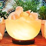 Himalayan Salt Lamp Bowl Of Fire Salt Lamp By Yellow Tree Company (TM). Best Quality Natural Himalayan Salt Lamp.
