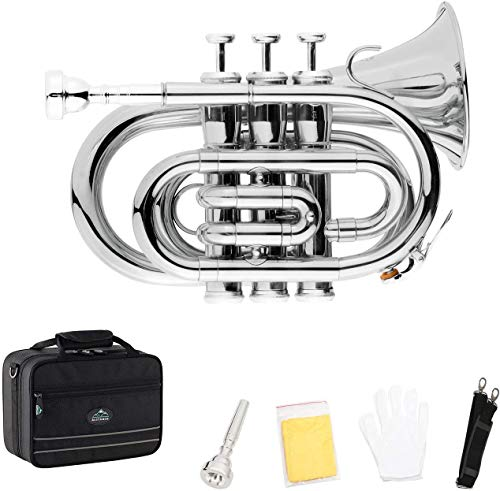 EastRock Pocket Trumpet Brass