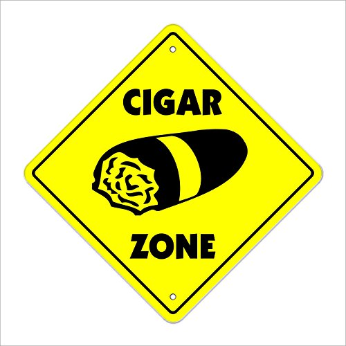 Cortan360 Cigar Crossing Sign Zone Xing 8