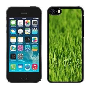 Customized Phone Case Design with Green Grass Closeup iPhone 5C Wallpaper 2