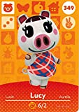 Nintendo Animal Crossing Happy Home Designer Amiibo Card Lucy 349/400 USA Version