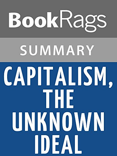 Summary & Study Guide Capitalism, the Unknown Ideal by Ayn Rand