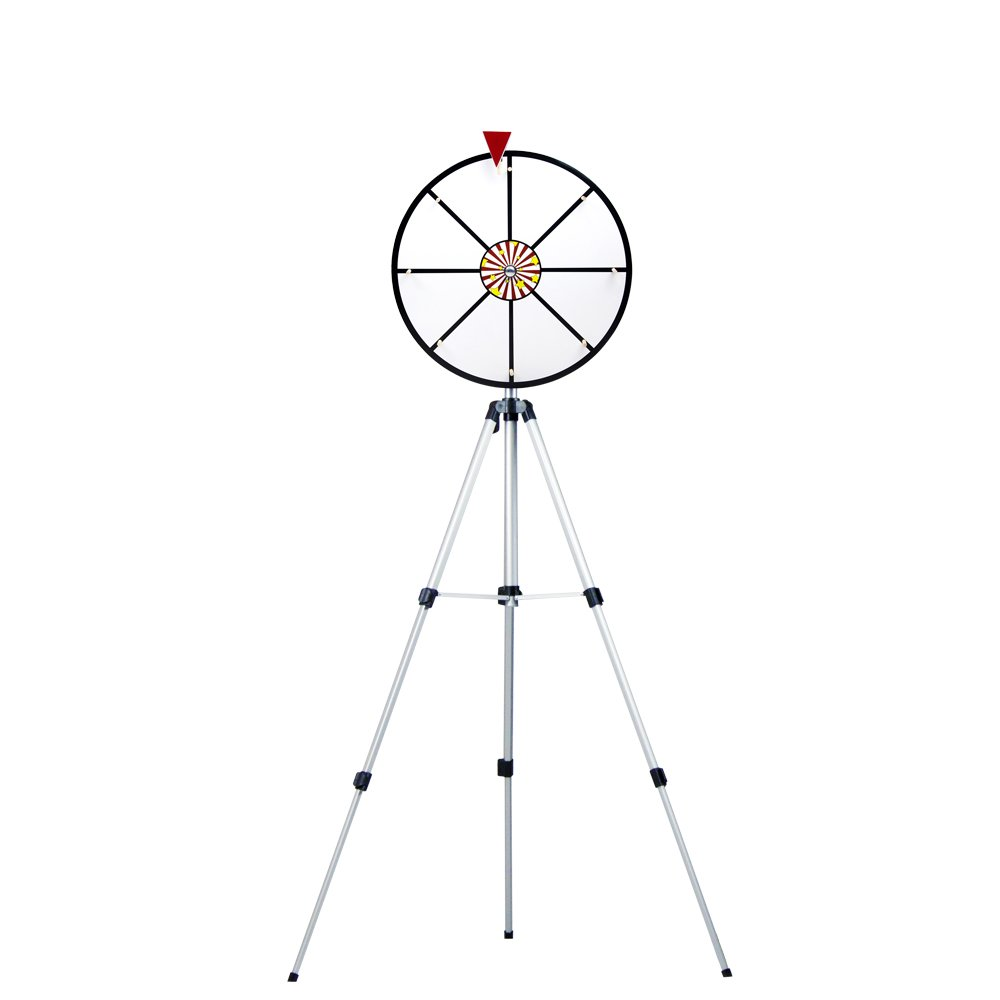 16 Inch White Dry Erase Prize Wheel with Stand by Midway Monsters by MIDWAY MONSTERS