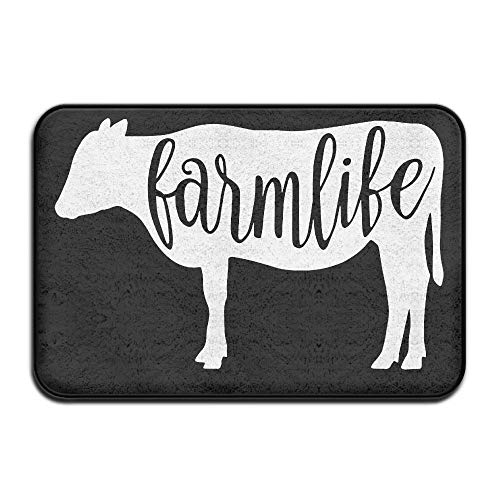 Farmlife Cow Anti-skidding Front Rug Bath Rug