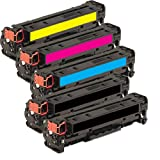 2inkjet© Set of 5 Pack Compatible/Remanufactured Canon 118 (Black x 2 + 1 Each Color) Toner Cartridge For ImageClass LBP7200Cdn, LBP7660Cdn, MF8350Cdn, MF8380Cdw, MF8580Cdw (Black x 2 + C/M/Y x 1), Office Central