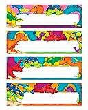 TREND enterprises, Inc. Dino-Mite Pals Desk Toppers Name Plates Var. Pk., 32 ct