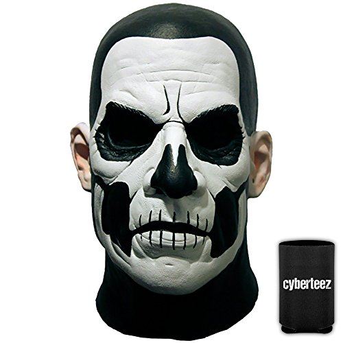 Ghost Papa Emeritus II Men's Standard Latex Costume Overhead Mask + Coolie -