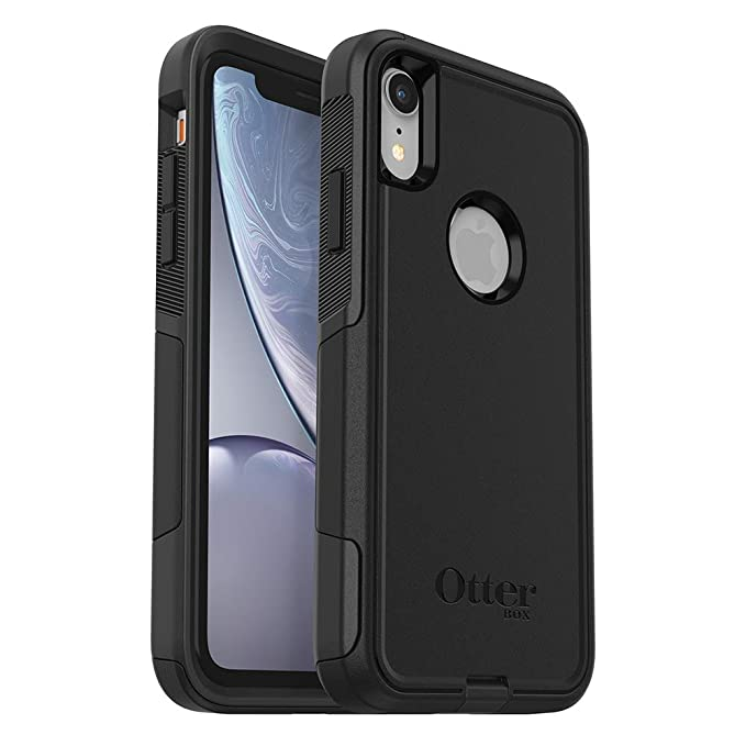 best service 7e621 ded6e OtterBox Commuter Series Case for iPhone XR - Retail Packaging - Black