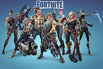 Amazon Com 777 Tri Seven Entertainment Fortnite Poster Battle