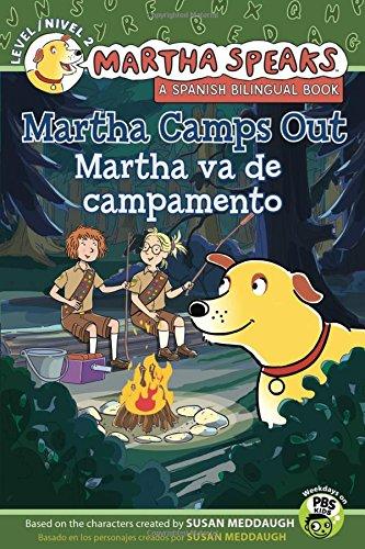 Martha habla: Martha va de campamento/Martha Speaks: Martha Camps Out (Bilingual Reader) (Spanish and English Edition) ebook