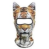 JIUSY 3D Animal Ears Balaclava Breathable Cover